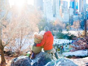 Couple NYC Winter