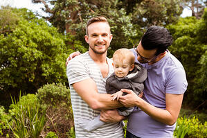 Gay Men With Baby