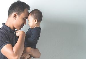 Man With Baby-1