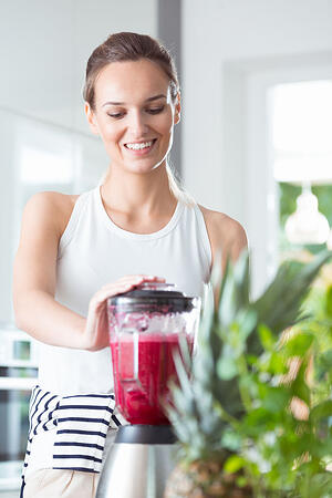 Woman Smoothie